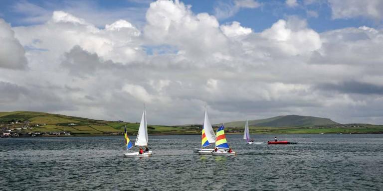 Sailing on the Dingle Peninsula