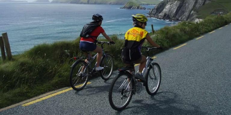 Cycling on the Dingle Peninsula