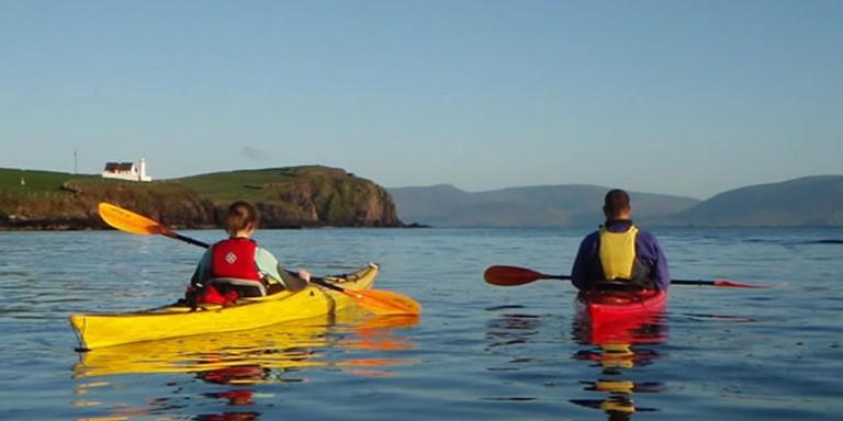 Kayaking on the Dingle Peninsula