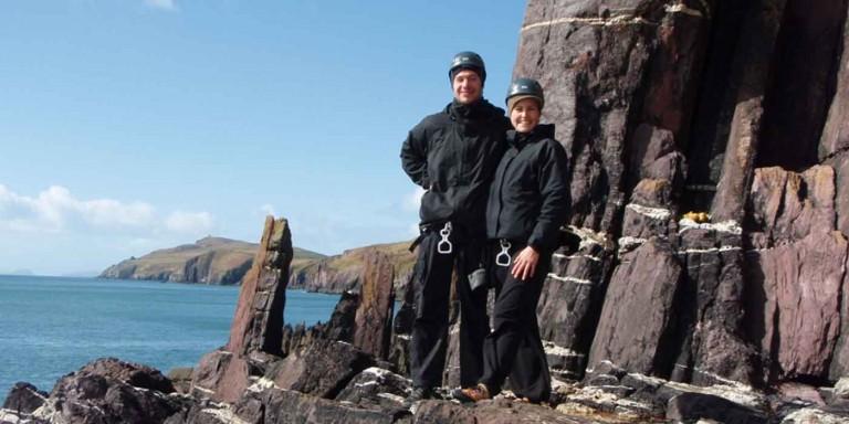 Rock Climbing on the Dingle Peninsula