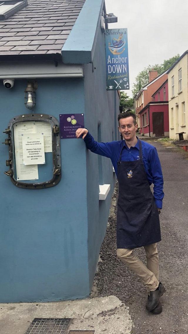James Sheehy - Anchor Down Restaurant