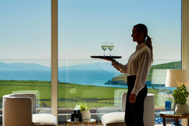 Spectacular View of Dingle Bay at Pax Guest House